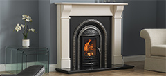 Ashbourne Polished Solid Fuel Integra