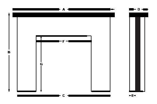 mantel diagram