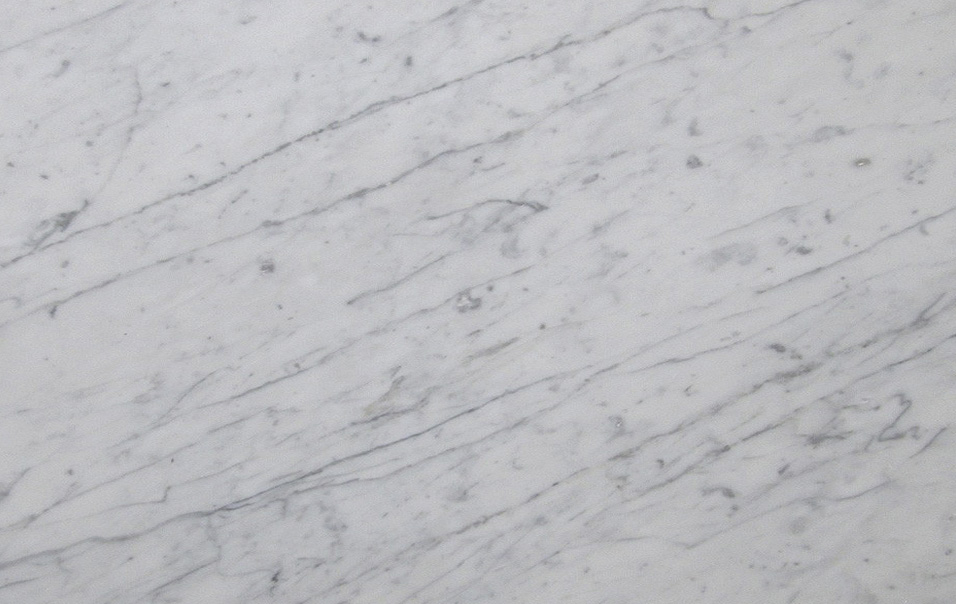 colour: polar white, material: italian carrara.