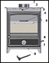 vulcan stove part list